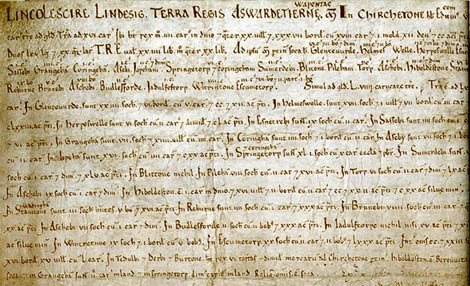 A return on a writ of certiorari, 1629, Lincolnshire; Catalogue reference: C89/17 no.7