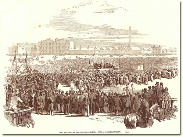 ZPER 34/12; Chartists on Kennington Common, 1848