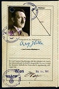 SOE fake passport for Hitler (HS 8/1032)
