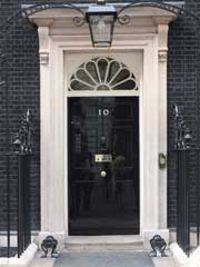 10 Downing Street door
