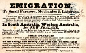 Emigration to Australia notice, 1841 (cat ref CO 384/66)