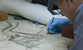 Conservation at Tyne and Wear Archives