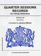 Quarter Sessions Records for Family Historians