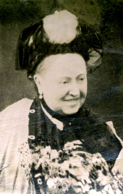 Queen Victoria smiling, 1887. Catalogue reference: COPY 1/381 f350