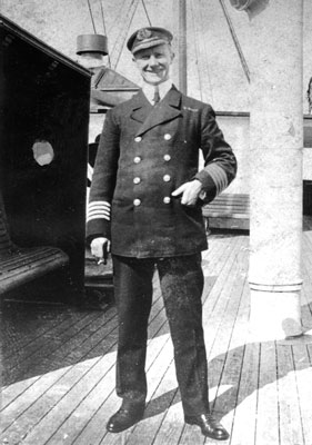 Captain Arthur Rostron of RMS Carpathia