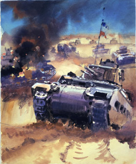 British Tanks in the Western Desert. Catalogue reference INF 3