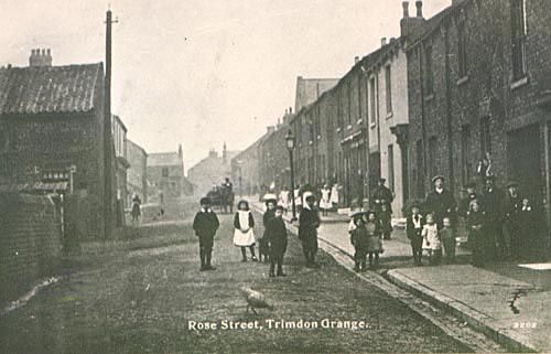 Photo of Trimdon Grange circa 1900 (Durham Record Office D/Ph40/2)