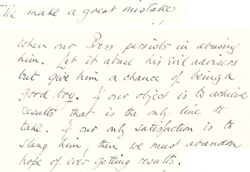Extract from a letter from Nevile Henderson, British Ambassador in Germany, September 6th, 1938 (FO 371/21737)