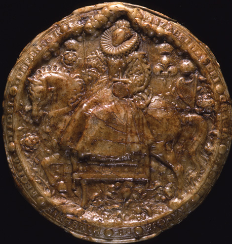 Great Seal of Queen Elizabeth I [Reverse] (SC 12/N3)