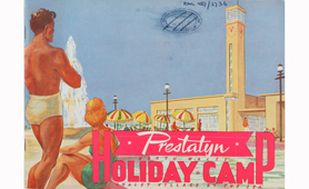Extract from a brochure for the Prestatyn Holiday Camp which opened on 22 June 1939 (catalogue reference: RAIL 1057/2736)