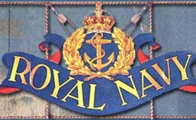 'Royal Navy' text taken from a Royal Navy poster (catalogue reference ADM 1/8331)
