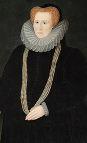Portrait of Bess of Hardwick, used by permission of Hardwick Hall