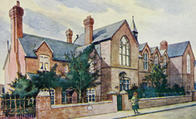 Orme Girls' School, Newcastle, 1904 (Catalogue reference: COPY1/218/230)