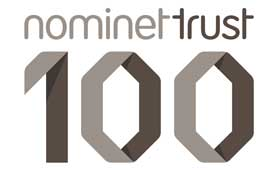 Nominet Trust 100 logo