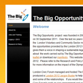 The Big Opportunity London Voluntary and Community Sector website