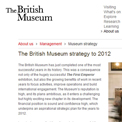 British Museum 2012 website