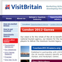 Visit Britain 2012 - archived website