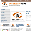 Citizen's Eye Community news website