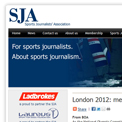 Sports Journalists Association London 2012 website
