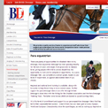 British Dressage Para Equestrian website