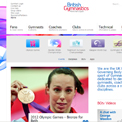British Gymnastics website