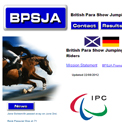 British Para Showjumping Association  website