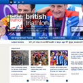 British Triathlon website