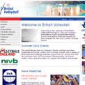 British Volleyball Federation website