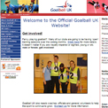 Goalball UK website