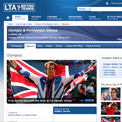 Lawn Tennis Association British Tennis website