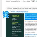 London 2012 - Get Set Truce website