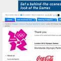 London 2012 Official Paralympic partners and sponsors website