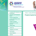Oxfordshire Sports 2012 website