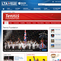 Tennis Foundation website