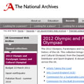 2012 Games and Cultural Olympiad archived website