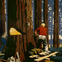 Timber from Canada poster, artist Frank Newbould. CO 956/225