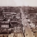 Melbourne from GPO Tower looking East, 1901. COPY 1/450 (424)
