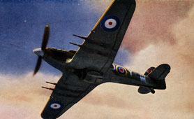 Hurricane Fighter, Second World War (catalogue reference INF 2/4)