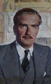 A portrait of Sir Anthony Eden (catalogue reference: INF 3/9)