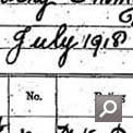Service record of Dorothy Poulter (Catalogue reference ADM 336/26)