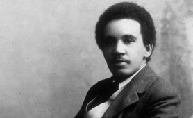 Photograph of the composer Samuel Coleridge-Taylor (Catalogue reference: COPY 1/451)