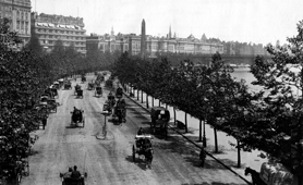 Photograph of Victoria Embankment, London, 1903 (Catalogue reference: COPY 1/460/f415)
