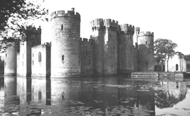 Photograph of Bodiam Castle, East Sussex (Catalogue reference: INF 9/764)