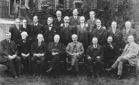 Photograph of the first Labour Cabinet, 1924 (Catalogue reference: PRO30-69-1668)