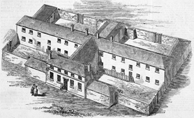 Illustration of Andover Union Workhouse, 1844 (Catalogue reference: ZPER 34/9)