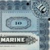 Cancelled share certificates for the International Mercantile Marine Company, owners of White Star Line. Courtesy of James Cronan.
