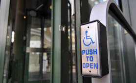 Accessible entrances